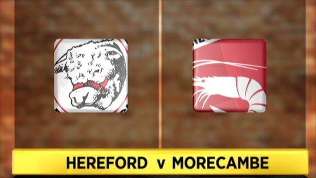 Hereford 0-3 Morecambe