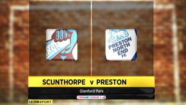 Scunthorpe 1-1 Preston