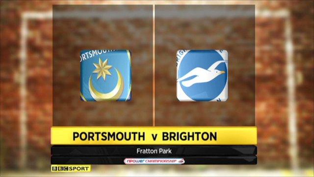 Portsmouth 0-1 Brighton