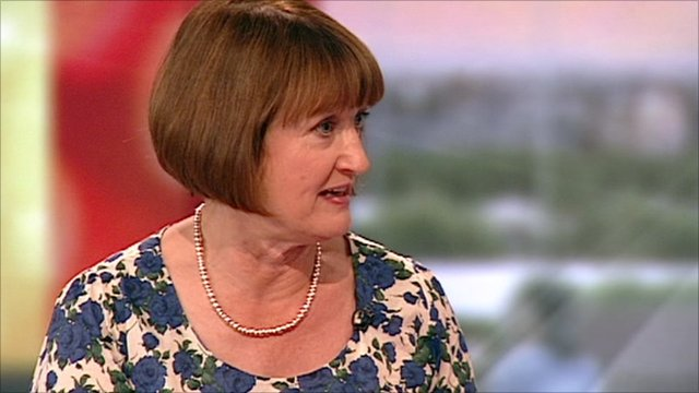 Shadow Cabinet Office Minister Tessa Jowell