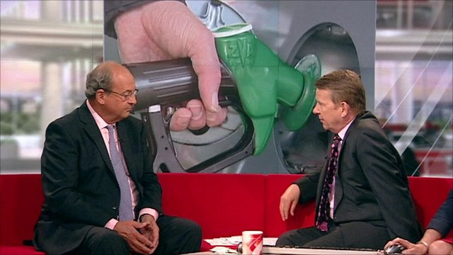 Brian Madderson talks to Bill Turnbull
