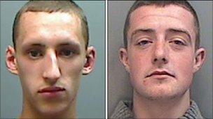 Perry Sutcliffe-Keenan and Jordan Blackshaw