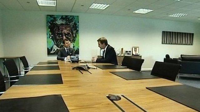 Sitting a job interview