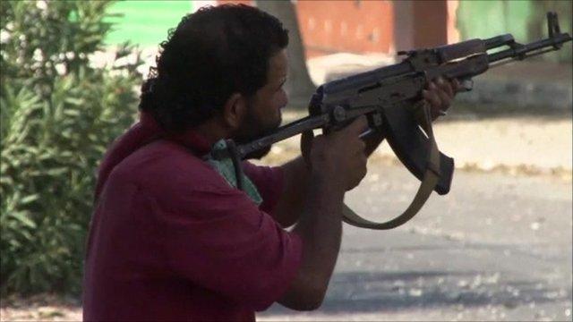 Rebel in Zawiya