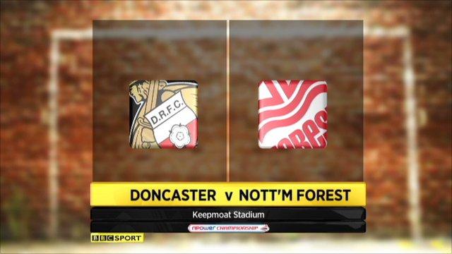 Doncaster 0-1 Nott'm Forest