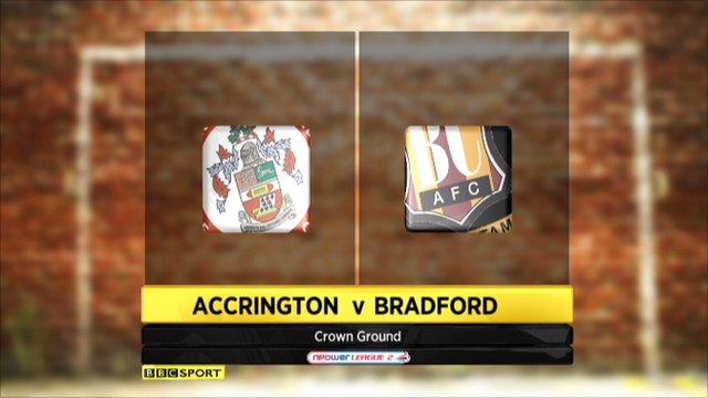 Accrington 1-0 Bradford