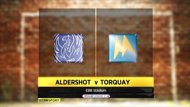 Aldershot 0-1 Torquay
