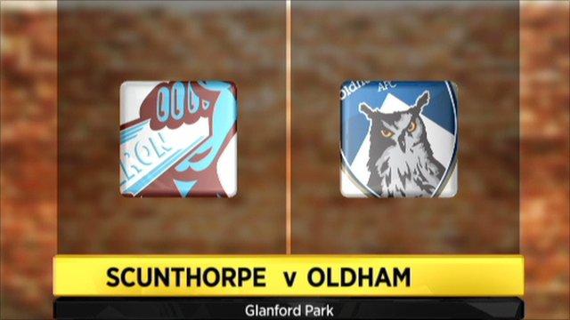 Scunthorpe 1-2 Oldham