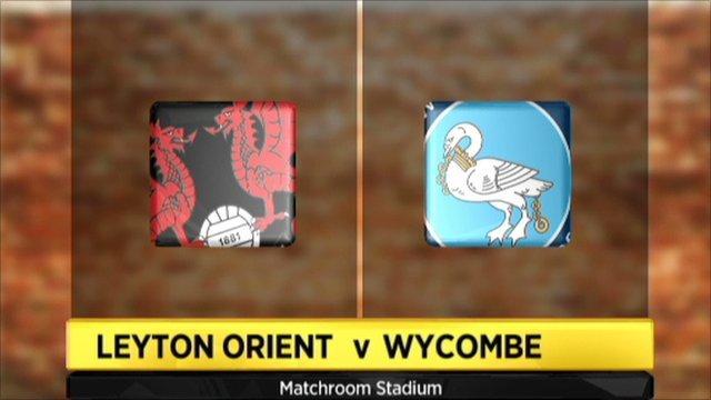 Leyton Orient 1-3 Wycombe
