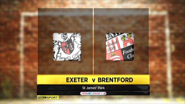 Exeter 1-2 Brentford