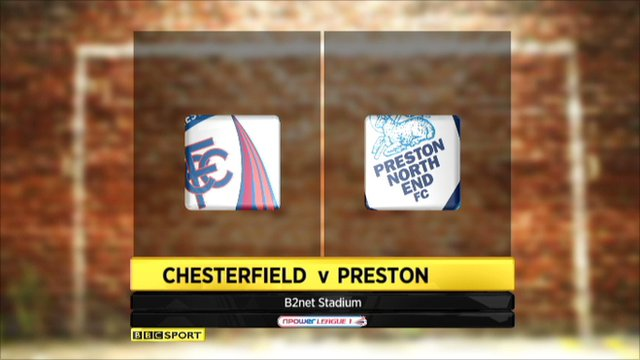 Chesterfield 0-2 Preston