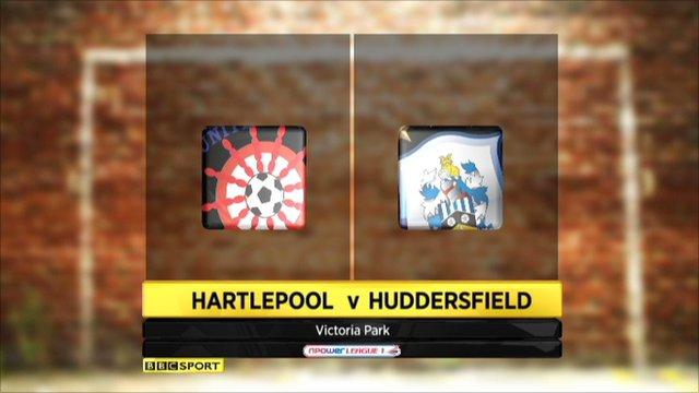Hartlepool 0-0 Huddersfield