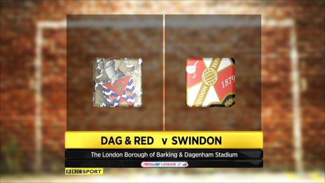 Dag & Red 1-0 Swindon
