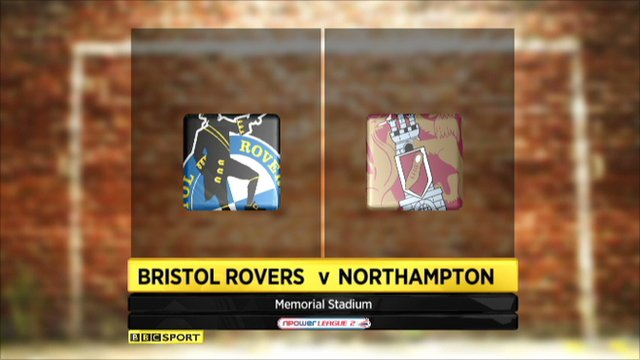 Bristol Rovers 2-1 Northampton