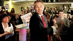 Tony Blair, Trimdon Labour Club