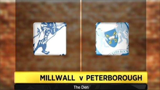 Millwall 2-2 Peterborough