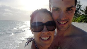 Gemma and Ian Redmond