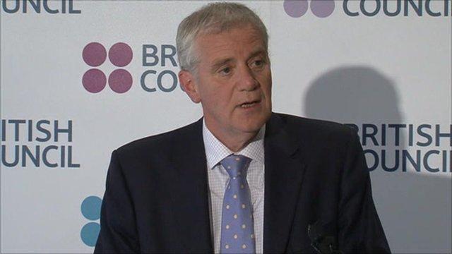 Chief executive of the British Council, Martin Davidson