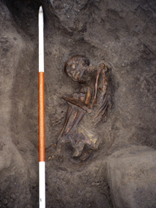 Mummy remains