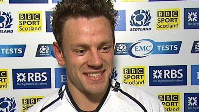Scotland's Nick de Luca