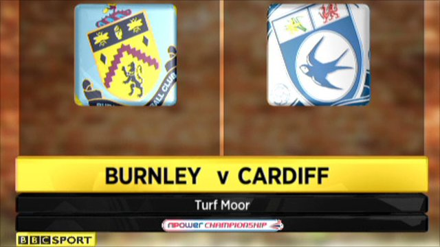Highlights - Burnley 1-1 Cardiff