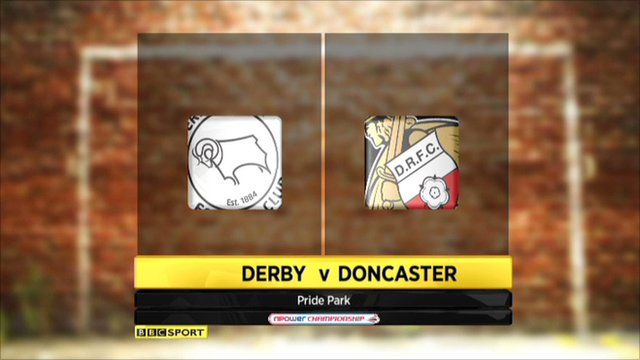 Highlights - Derby 3-0 Doncaster