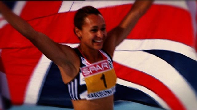 Jess Ennis is one of Britain's best athletics hopes for the 2012 Olympics