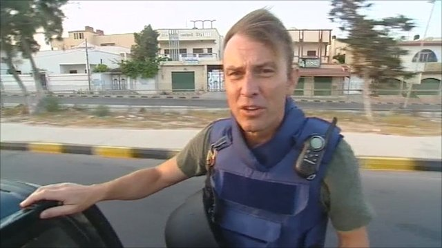 The BBC's Rupert Wingfield-Hayes in Tripoli