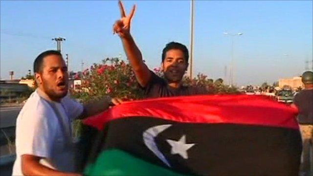 Tripoli residents