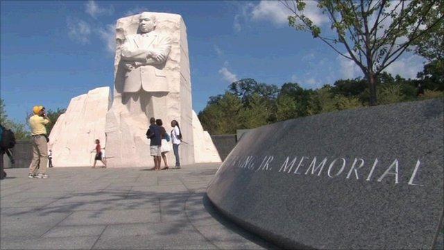 MLK Memorial in Washington, DC