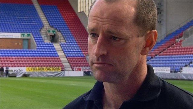 Wigan coach Michael Maguire
