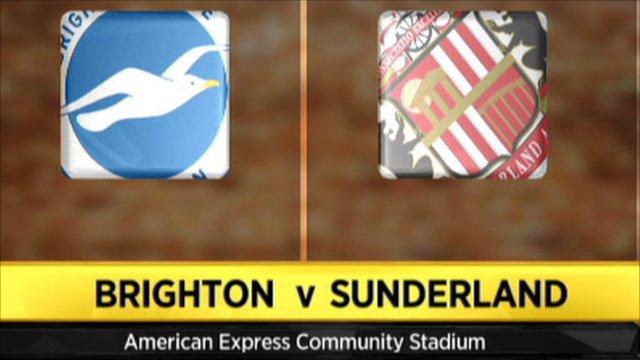 Brighton 1-0 Sunderland (aet)