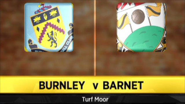 Burnley 3-2 Barnet (aet)