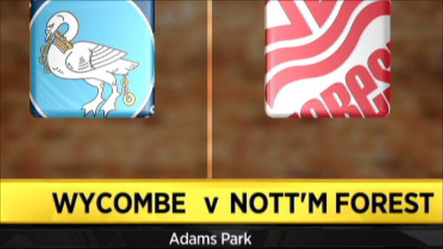 Wycombe 1-4 Nott'm Forest