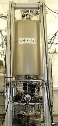 Caesium clock at NPL (NPL)