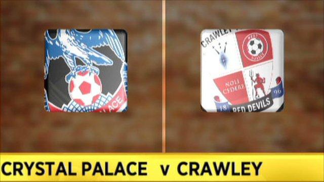 Crystal Palace 2-0 Crawley