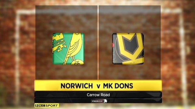 Norwich 0-4 MK Dons