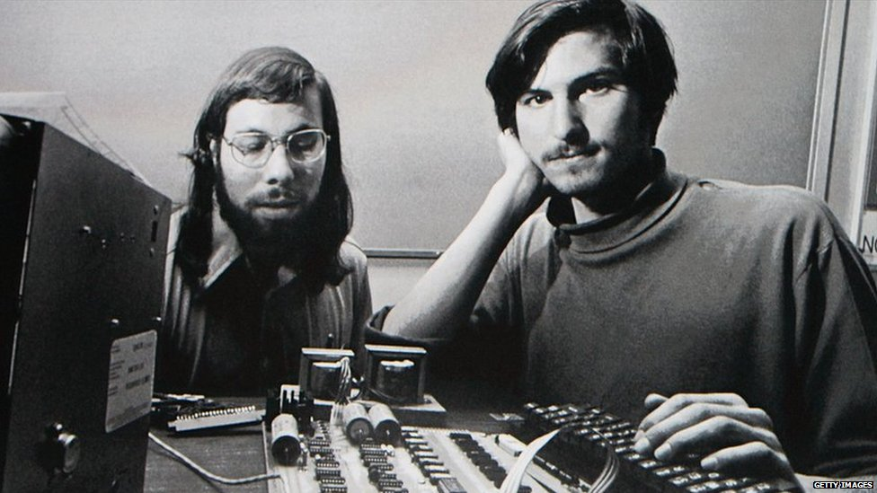 Apple Team Garage : Bbc news in pictures steve jobs career
