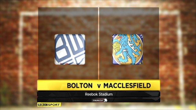 Bolton 2-1 Macclesfield