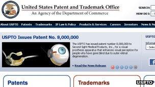 US Patent Office document