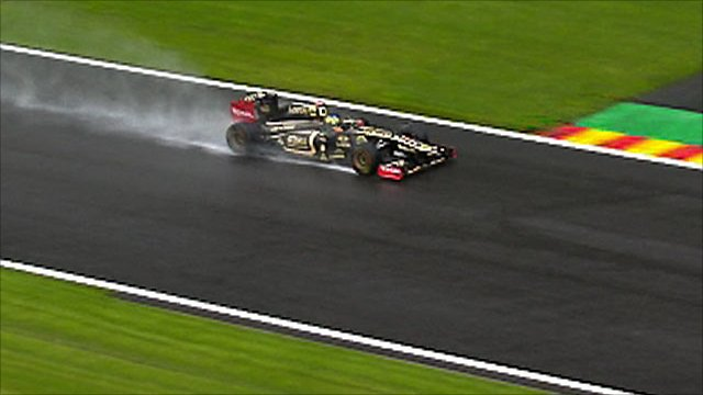 Belgian Grand Prix - First practice highlights