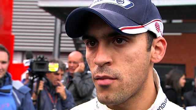 Williams driver Pastor Maldonado
