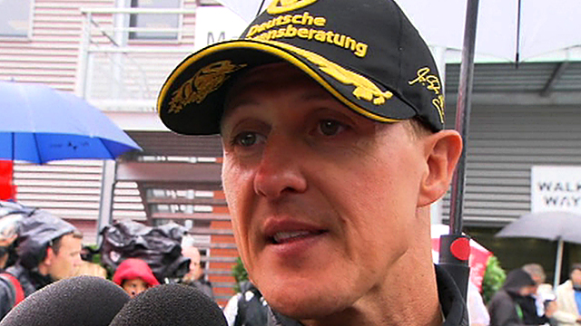 Mercedes driver Michael Schumacher