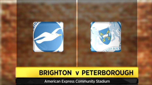 Brighton 2-0 Peterborough