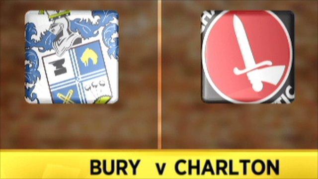 Bury 1-2 Charlton