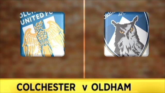 Colchester 4-1 Oldham