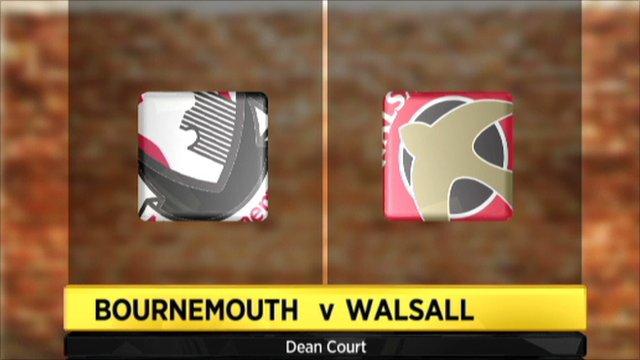 Bournemouth 0-2 Walsall