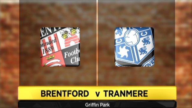 Brentford 0-2 Tranmere