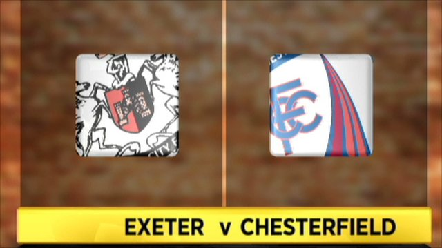 Exeter 2-1 Chesterfield
