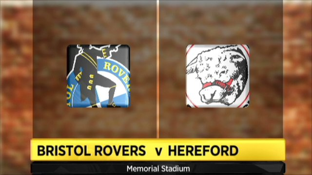 Bristol Rovers 0-0 Hereford Utd